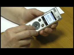 Говорящий диктофон <b>Olympus DM-770</b> - YouTube