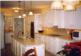 Small Picture Delighful White Kitchen Granite Cabinets With Black Countertops