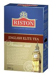 Купить <b>чай RISTON</b> english elite <b>черный</b>, листовой, 200г в ...