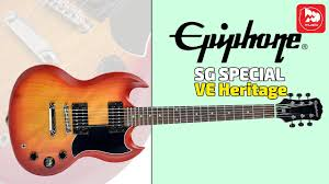 <b>Электрогитара EPIPHONE SG</b> Special VE - YouTube