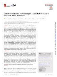 (PDF) Gut Microbiota and <b>Phytoestrogen</b>-Associated Infertility in ...