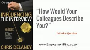 interview question and answer 03 what would your colleagues say interview question and answer 03 what would your colleagues say about you