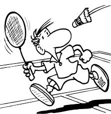 Image result for gambar badminton kartun