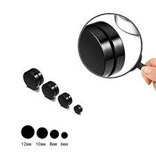 Riskt <b>1 Pair Magnetic</b> Stud Earrings for Women Men Metal Magnet ...