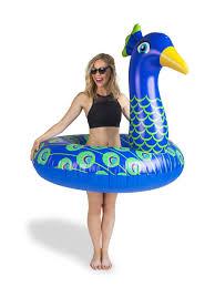 <b>Круг надувной</b> Peacock <b>BigMouth</b> 8162768 в интернет-магазине ...