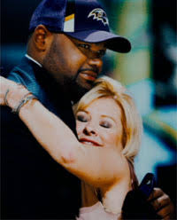 the blind side true story   real leigh anne tuohy  michael ohermichael oher leigh anne tuohy