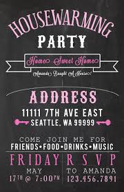chalkboard pot luck party invite just because party housewarming party invites amandarobinett com