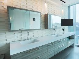 Recessed Bathroom Mirror Cabinets Furniture Outstanding Mirror Sliding Medicine Cabinet With Double