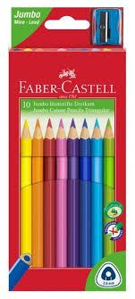 <b>Faber</b>-<b>Castell Цветные карандаши</b> Grip 2001 <b>10</b> цветов с ...