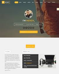 creative resume ideas to stand out onlinepersonal one page resume website template
