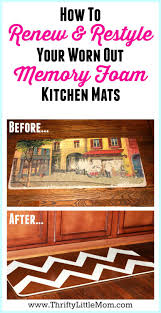 gel foam kitchen mats: renew and restyle your memory foam kitchen mat