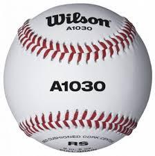 <b>Мяч бейсбольный Wilson</b> Official League Baseball SS15 - купить в ...