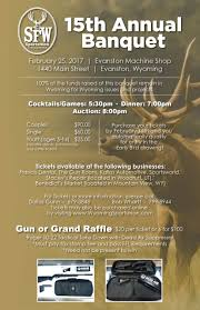 uinta county chapter wyoming sportsman make a difference today enjoy a great evening of fun food and frolic and protect your rights as a sportsman in wyoming