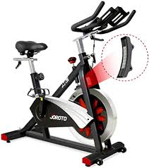 JOROTO Belt Drive Indoor Cycling Bike with ... - Amazon.com