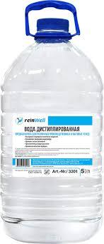 "<b>Вода дистиллированная</b> ReinWell ""RW-02"", 5 л — купить в ..."