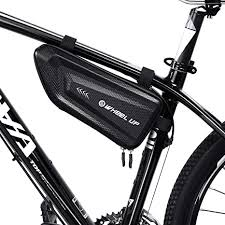 FlexDin <b>Bike</b> Triangle Frame <b>Bag</b>, <b>Bicycle</b> Top Tube <b>Bags Hard</b> Shell...