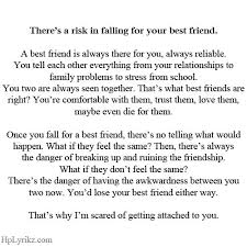 Falling For A Friend Quotes. QuotesGram