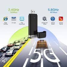 EDUP <b>Wifi Adapter</b> ac600Mbps <b>Wireless</b> Usb <b>Adapter</b> 5.8GHz/2.4 ...
