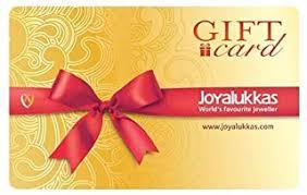 Joyalukkas: Gift Cards - Amazon.in