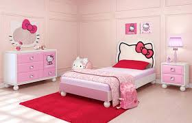 youth bedroom sets girls: hello kitty kids bedroom furniture sets design ideas