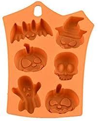 Genlesh <b>Halloween Silicone Cake Mold</b>, Decor Soap Chocolate ...