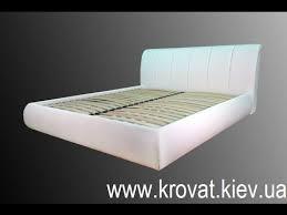<b>Кровать</b> из экокожи на заказ - YouTube