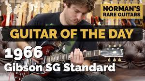 <b>Guitar</b> of the <b>Day</b>: 1966 <b>Gibson</b> SG Standard | Norman's Rare <b>Guitars</b>