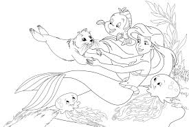 Small Picture Ursula Little Mermaid Coloring Pages Coloring Home Coloring