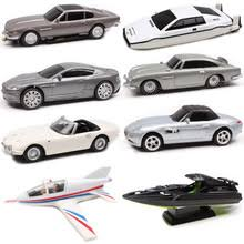 1:48 Scale James Bond 007 Aston Matin DB5 DBS V8 Vantage ...