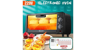 9L 220V 600W Mini Electric <b>Toaster</b> Oven <b>Breakfast</b> Machine <b>Home</b> ...