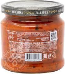 Купить Икра Balkanika <b>Лютеница</b> из печеных перцев и ...