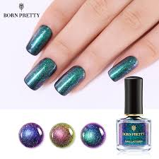 <b>BORN PRETTY Chameleon</b> Nail Polish <b>6ml</b> Shimmer Glitter ...