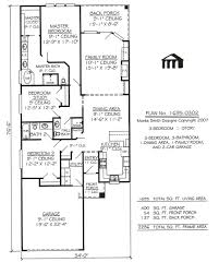 Small One Story House One Story Narrow House Plans  home plans one    Small One Story House One Story Narrow House Plans