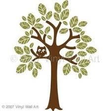 Large <b>Bird House Tree</b> Silhouette Scene Kit with Custom Name ...