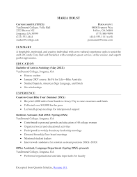 resume student examples objective for resume good sample college cover letter resume student examples objective for resume good sample collegeexamples of resume for students