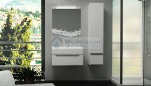 Мебель для ванной Velvex <b>Crystal</b> Cub 70 <b>подвесная</b> белая, цена ...