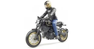 Игрушка <b>Bruder мотоцикл Ducati Scrambler</b> Cafe Racer с ...