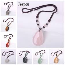 Online Shop Jewnou Opal Power <b>Necklace Women Jewelry</b> Natural ...