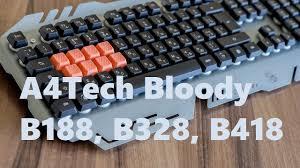 Обзор <b>игровых клавиатур A4Tech Bloody</b> B188, В328, В418 ...