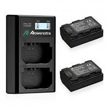 Комплект: 2 аккумулятора <b>Powerextra NP</b>-<b>FZ100</b> + <b>зарядное</b> ...