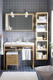 image quarter bamboo bathroom stool contemporary   bathroom with standard height undermount sink console sink three