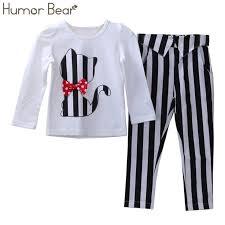 <b>Humor Bear Children</b> Autumn Baby <b>Girls</b> Clothes Cartoon Fashion ...