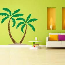 palm tree wall stickers: palm tree wall decal b  tree palm tree wall decal