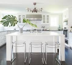 red acrylic kitchen island panel grey