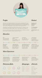 examples of creative graphic design resumes  infographics    creative graphic design resume by sayda muckenhirn