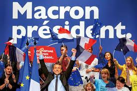 「「仏マクロン新大統領」の画像検索結果
