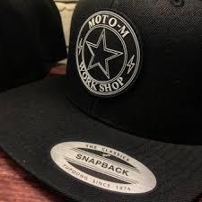 Кепка *Moto-М* <b>Yupoong Classic</b>™ <b>SnapBack</b> - черная <b>бейсболка</b> ...