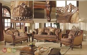 elegant traditional antique style sofa loveseat formal living room antique style living room furniture