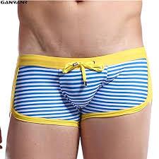 red,yellow,blue INF <b>GANYANR Brand</b> Gay Men Swimwear Male ...