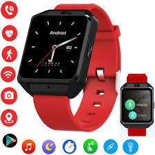 4G Bluetooth <b>Smart Watch Android 6.0</b> WIFI GPS Smartwatch For ...